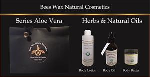 BEES WAX LOTION BODY BUTTER AND HAIR BODY OIL  WITH ALOE